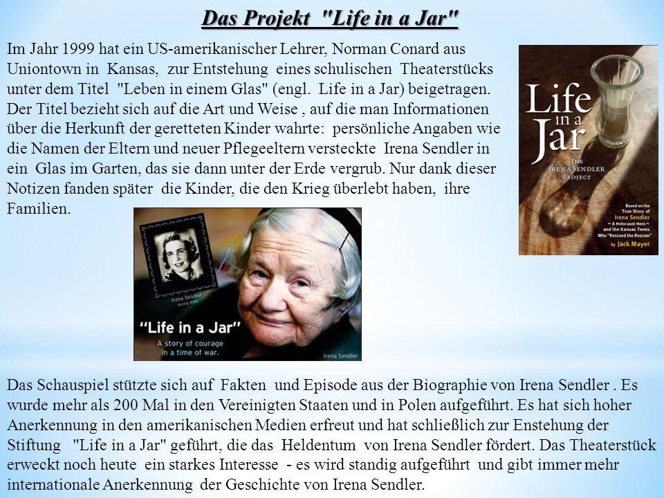 Das Projekt Life in a Jar