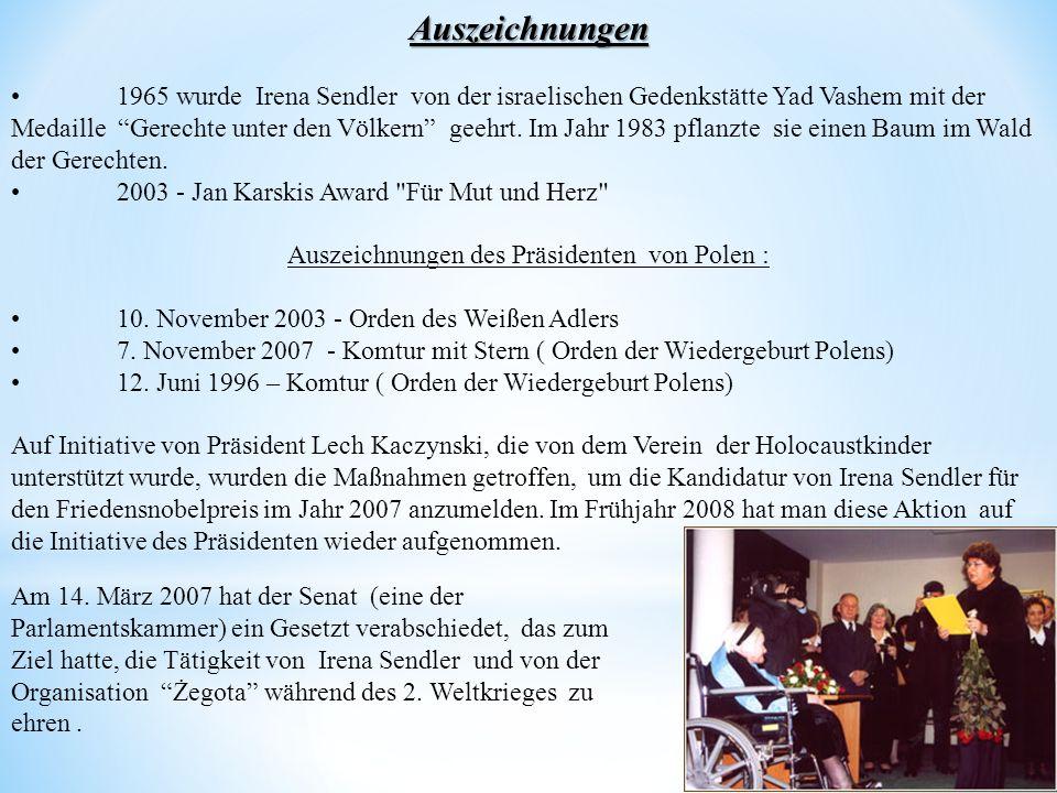 Auszeichnungen des Präsidenten von Polen :