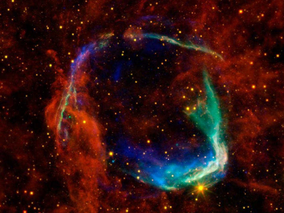 Supernova RCW-86-SN-185 Supernova RCW-86-SN-185, 9100 Lj entfernt, in China im Jahr 185 n. Chr. beobachtet.