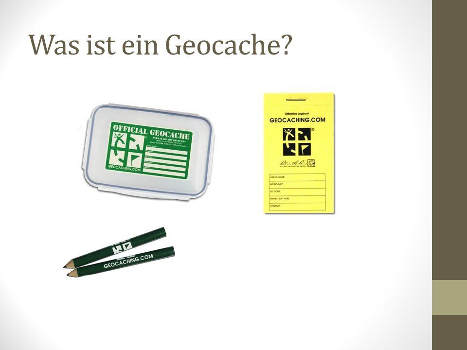Was ist ein Geocache