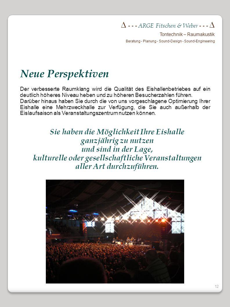 Neue Perspektiven  - - - ARGE Fitschen & Weber - - - 