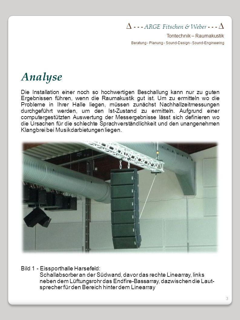 Analyse  - - - ARGE Fitschen & Weber - - - 