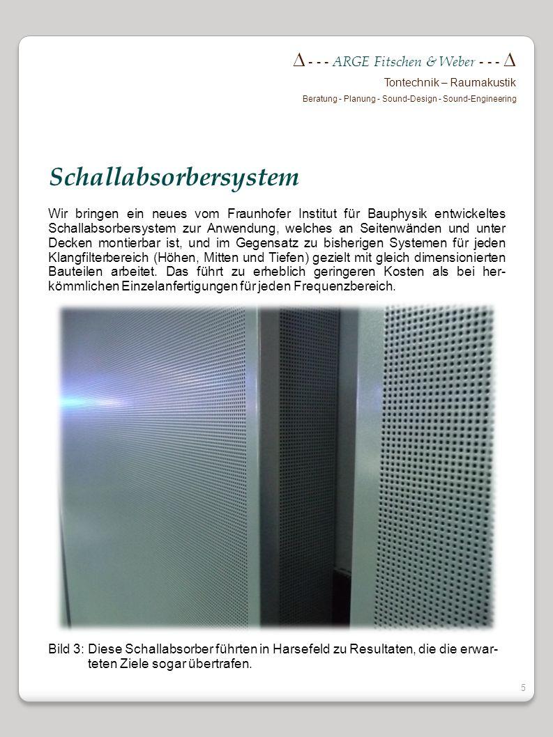 Schallabsorbersystem