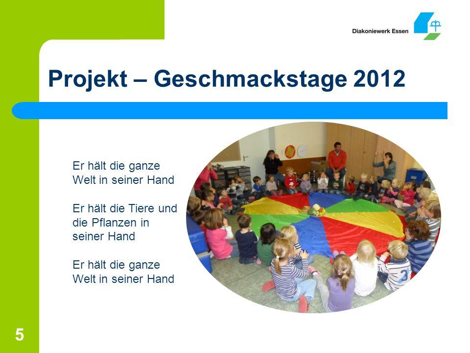 Projekt – Geschmackstage 2012
