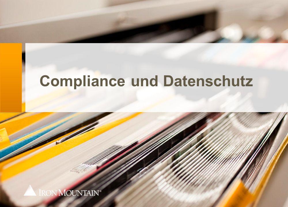 Compliance und Datenschutz