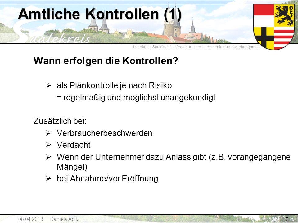 Amtliche Kontrollen (1)