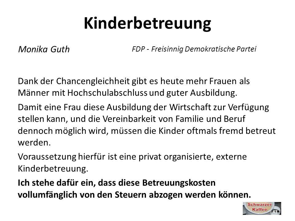 Kinderbetreuung Monika Guth