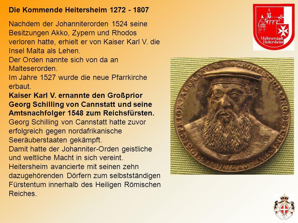 Die Kommende Heitersheim 1272 - 1807