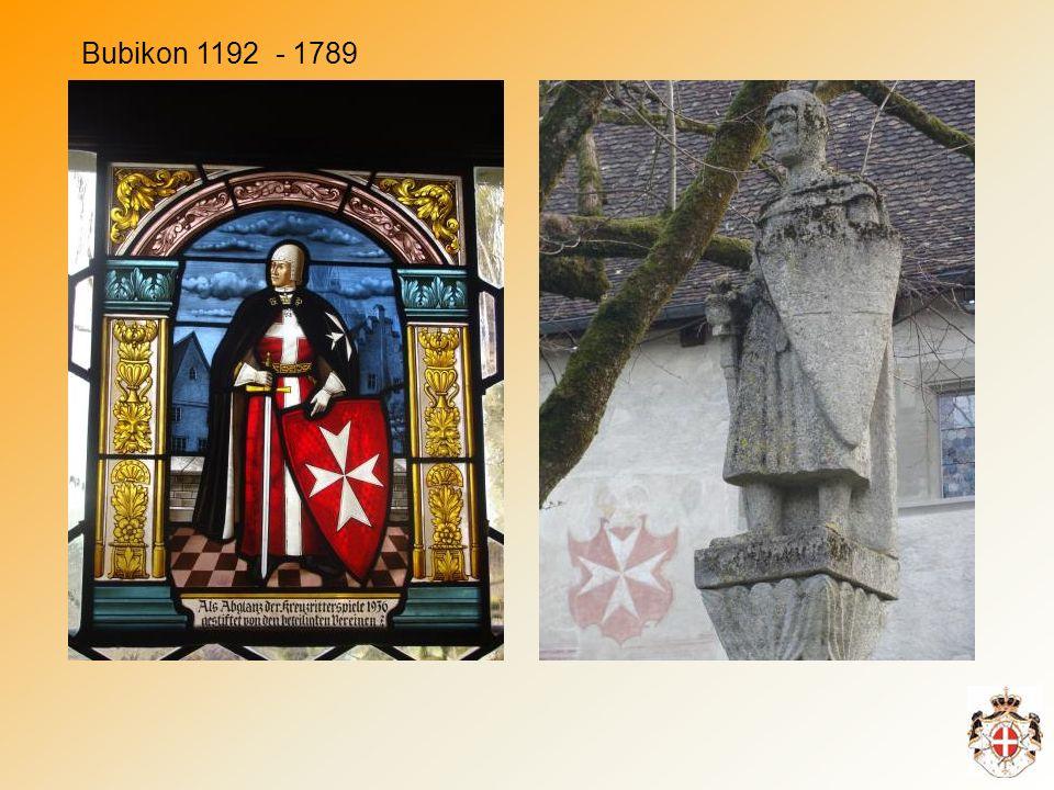 Bubikon 1192 - 1789