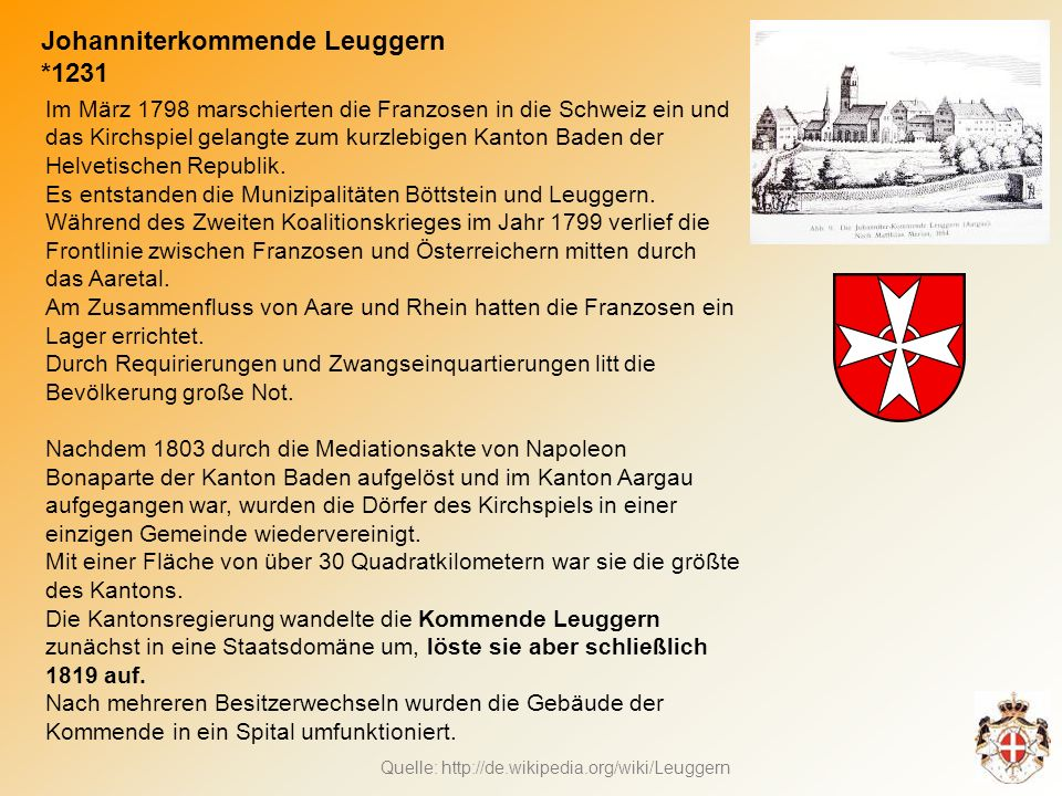 Johanniterkommende Leuggern *1231