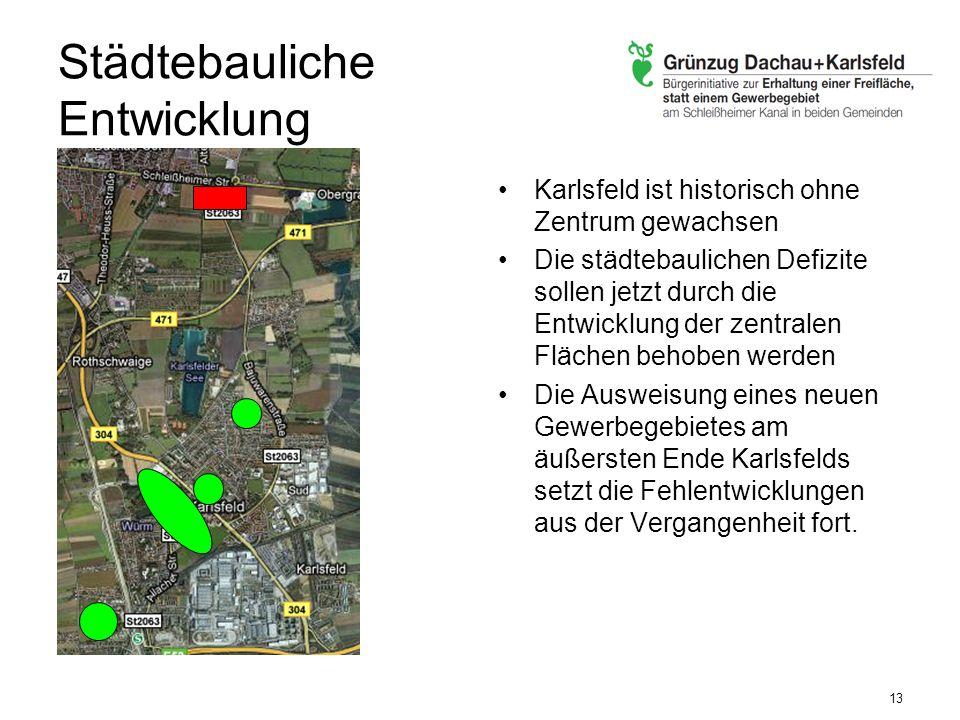 Städtebauliche Entwicklung