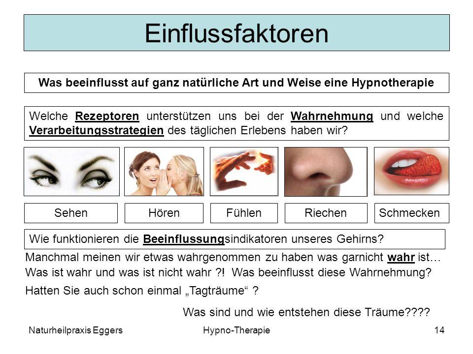 Was beeinflusst auf ganz natürliche Art und Weise eine Hypnotherapie