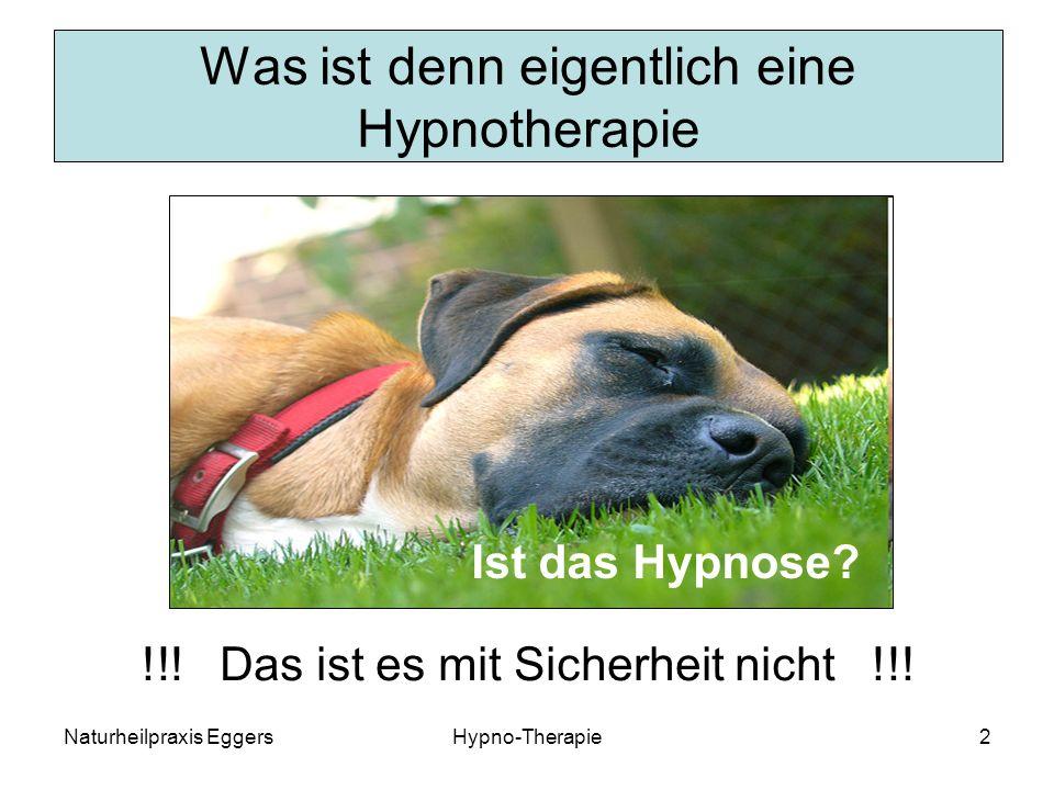 Was ist denn eigentlich eine Hypnotherapie
