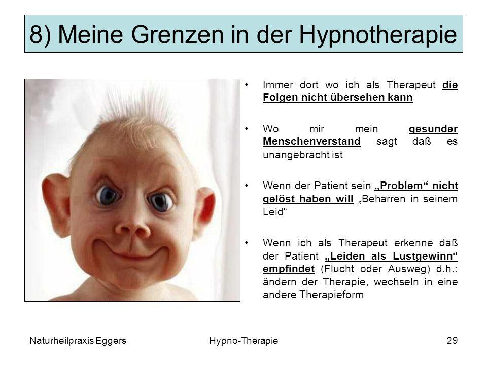 8) Meine Grenzen in der Hypnotherapie