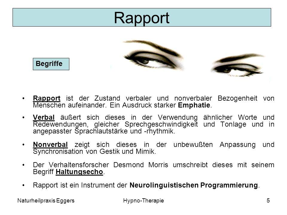 Rapport Begriffe. Rapport ist der Zustand verbaler und nonverbaler Bezogenheit von Menschen aufeinander. Ein Ausdruck starker Emphatie.