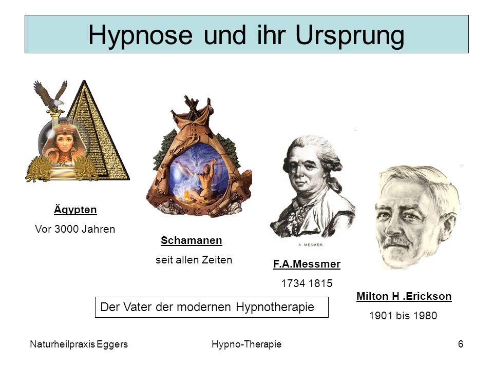 Hypnose und ihr Ursprung