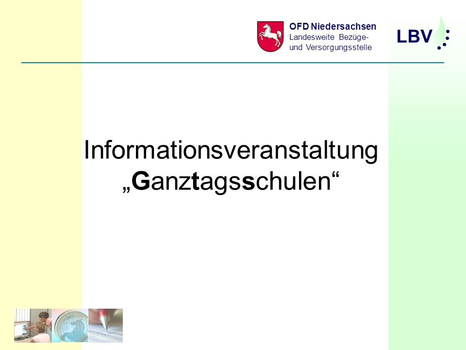 Informationsveranstaltung Ganztagsschule