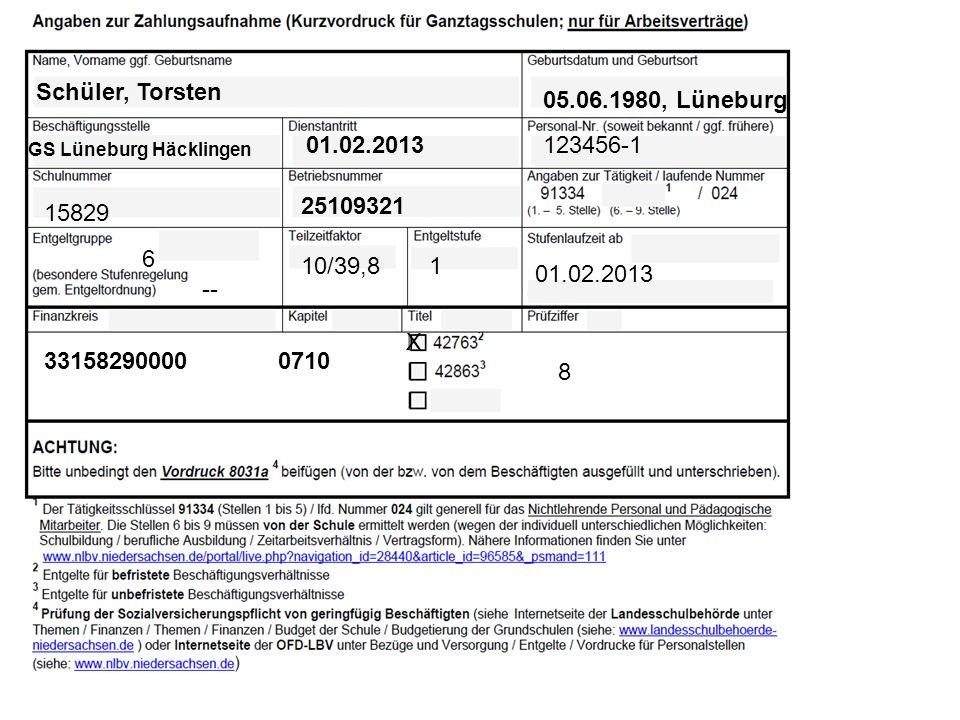 Schüler, Torsten 05.06.1980, Lüneburg 01.02.2013 123456-1 25109321