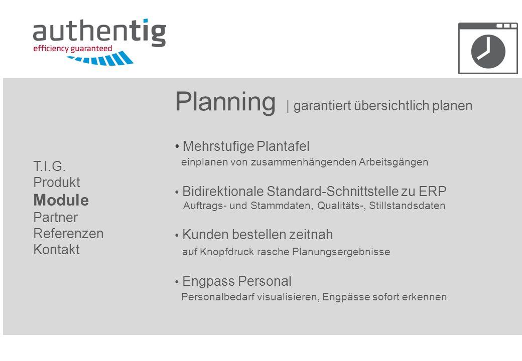 Planning | garantiert übersichtlich planen