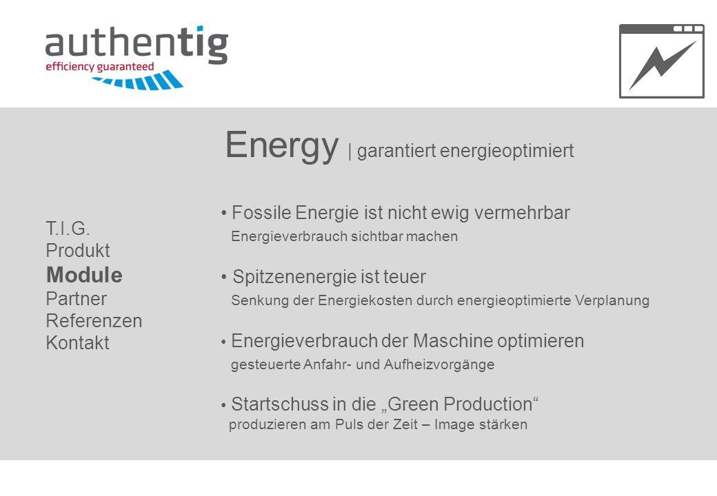 Energy | garantiert energieoptimiert