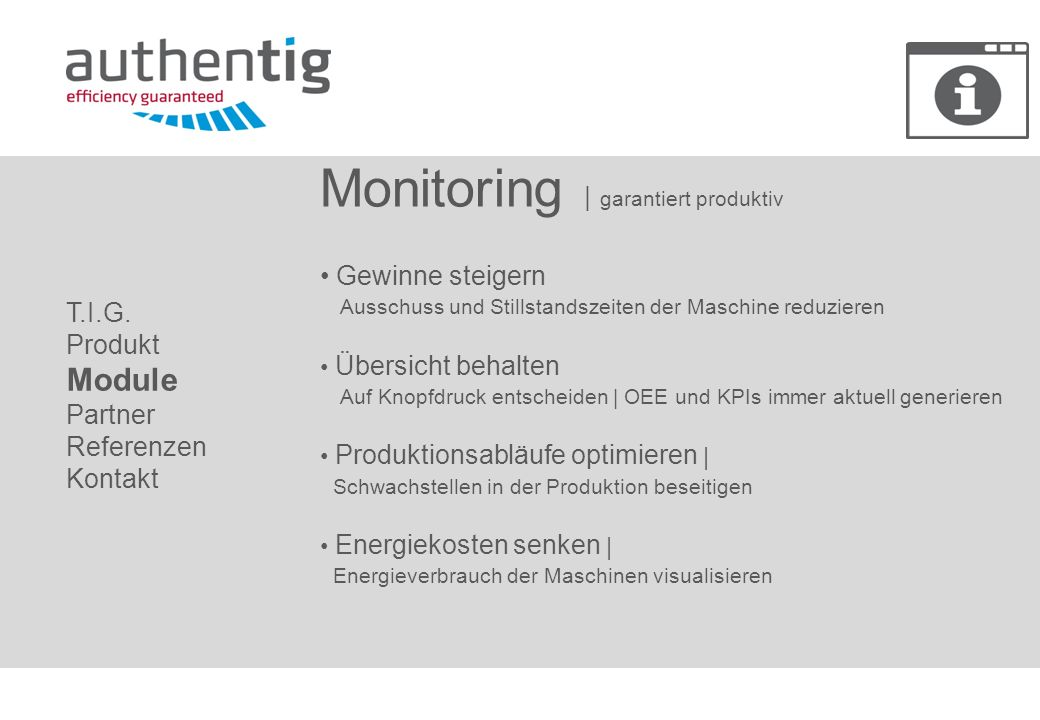 Monitoring | garantiert produktiv