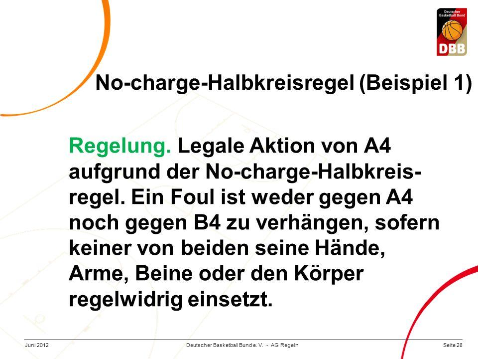 No-charge-Halbkreisregel (Beispiel 1)