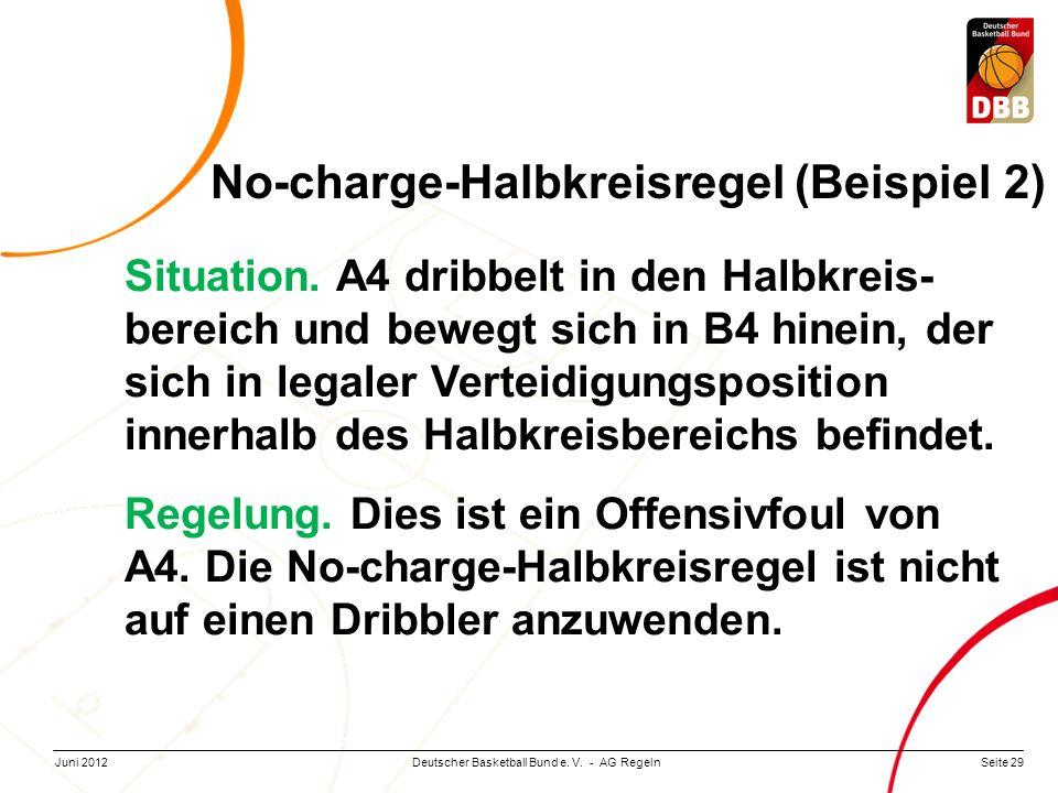 No-charge-Halbkreisregel (Beispiel 2)