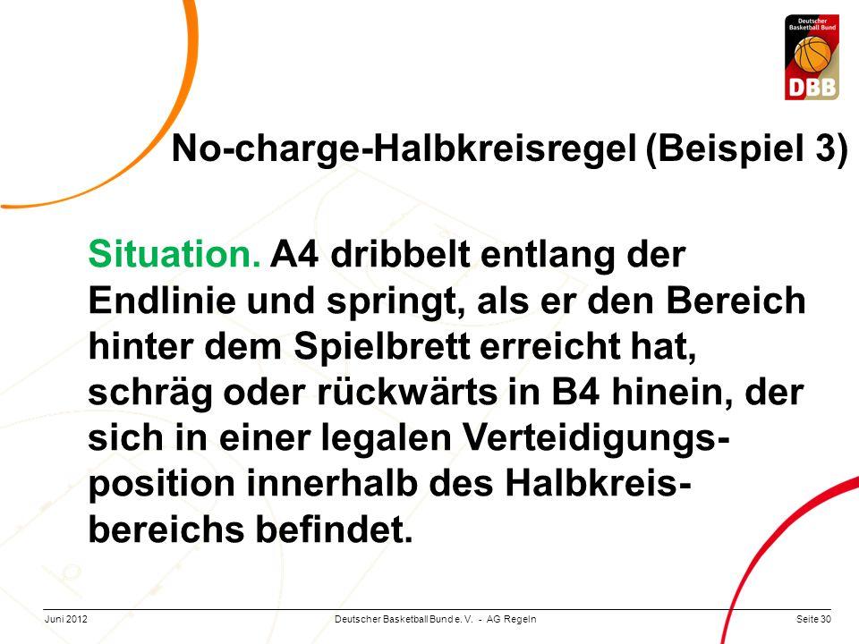 No-charge-Halbkreisregel (Beispiel 3)