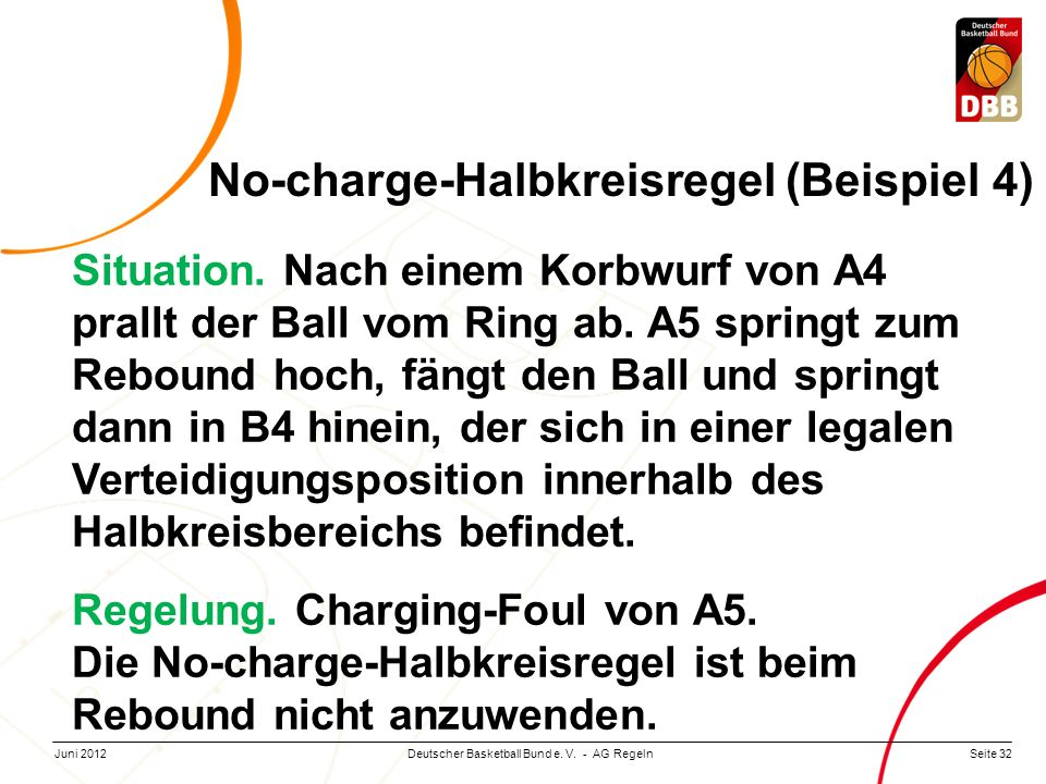 No-charge-Halbkreisregel (Beispiel 4)