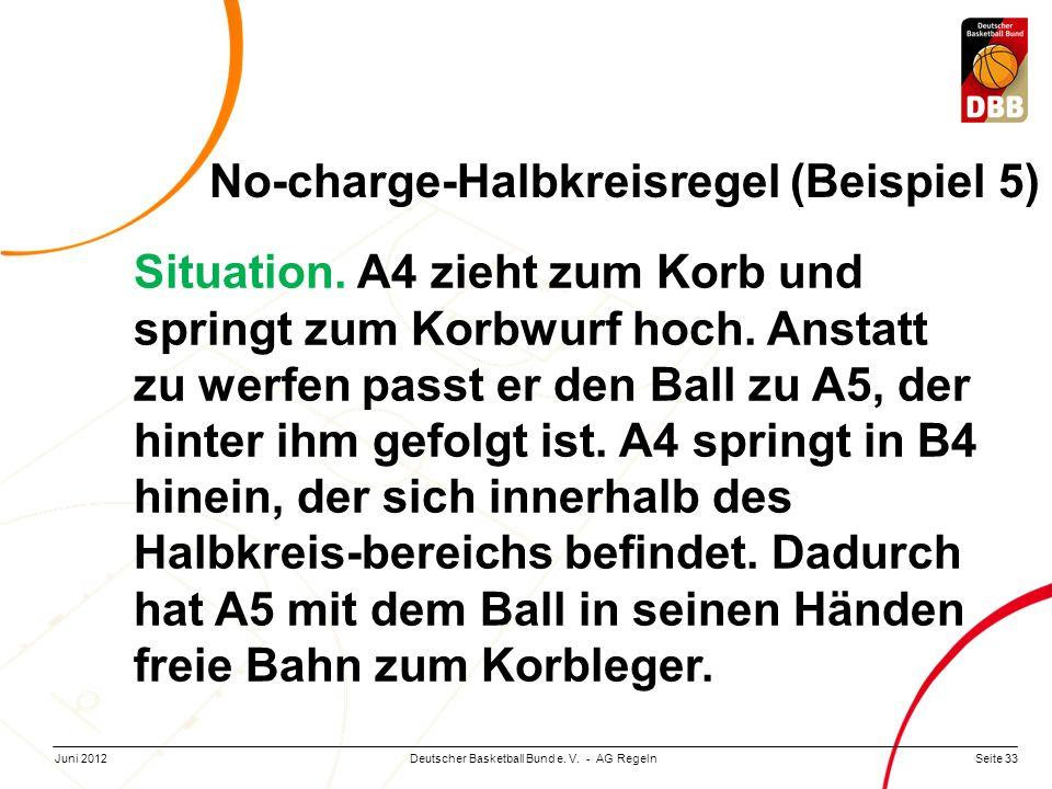 No-charge-Halbkreisregel (Beispiel 5)