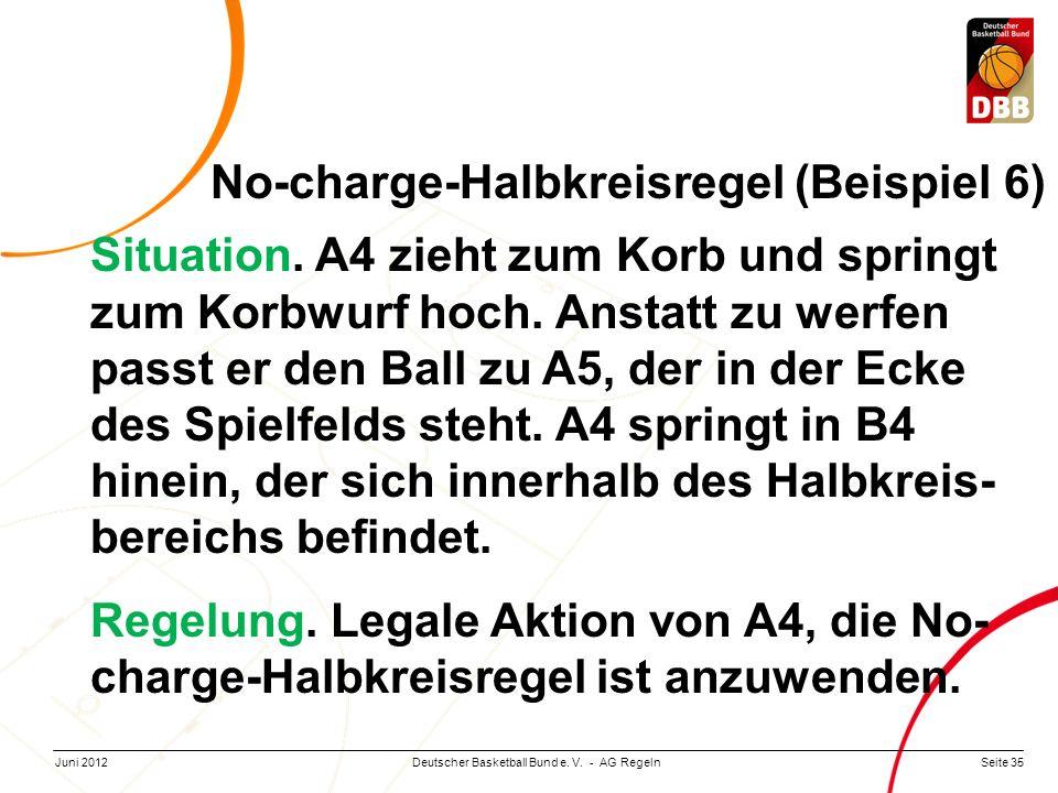 No-charge-Halbkreisregel (Beispiel 6)