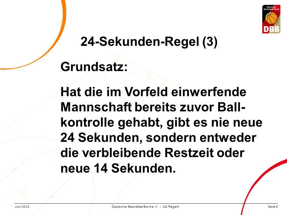24-Sekunden-Regel (3) Grundsatz: