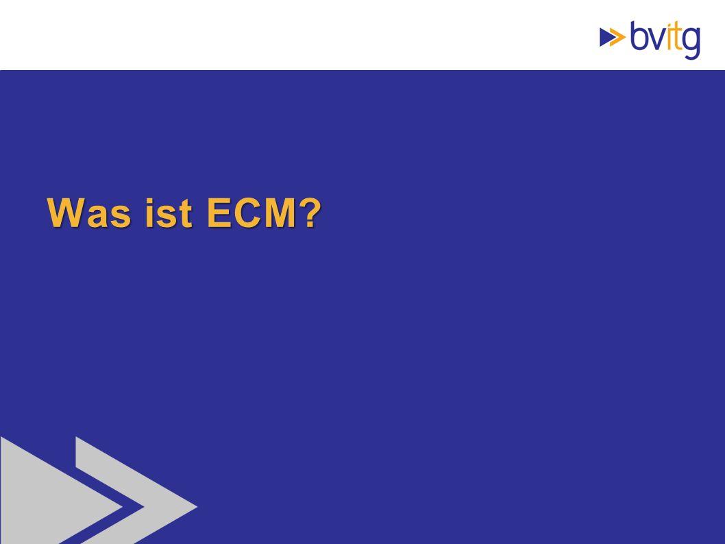 Was ist ECM
