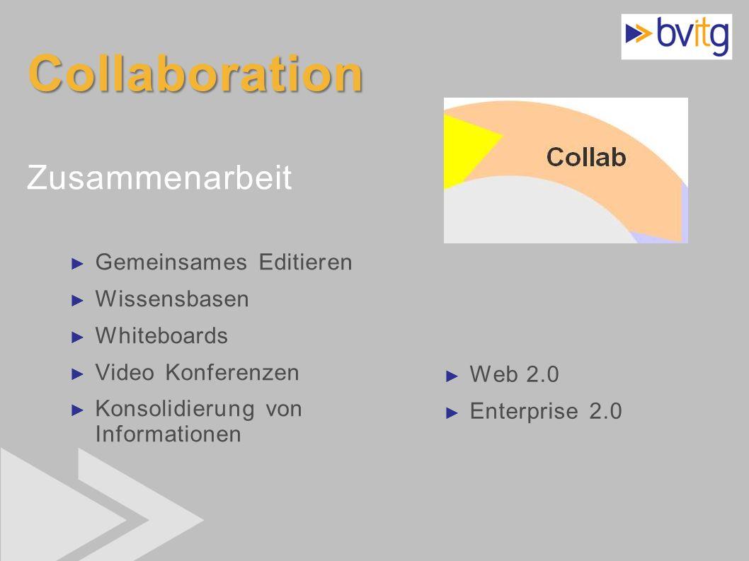 Collaboration Zusammenarbeit