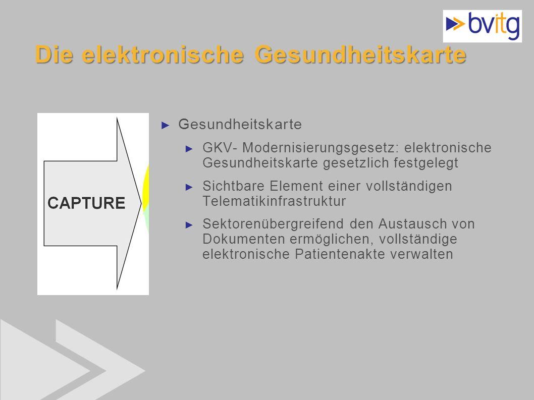 Die elektronische Gesundheitskarte