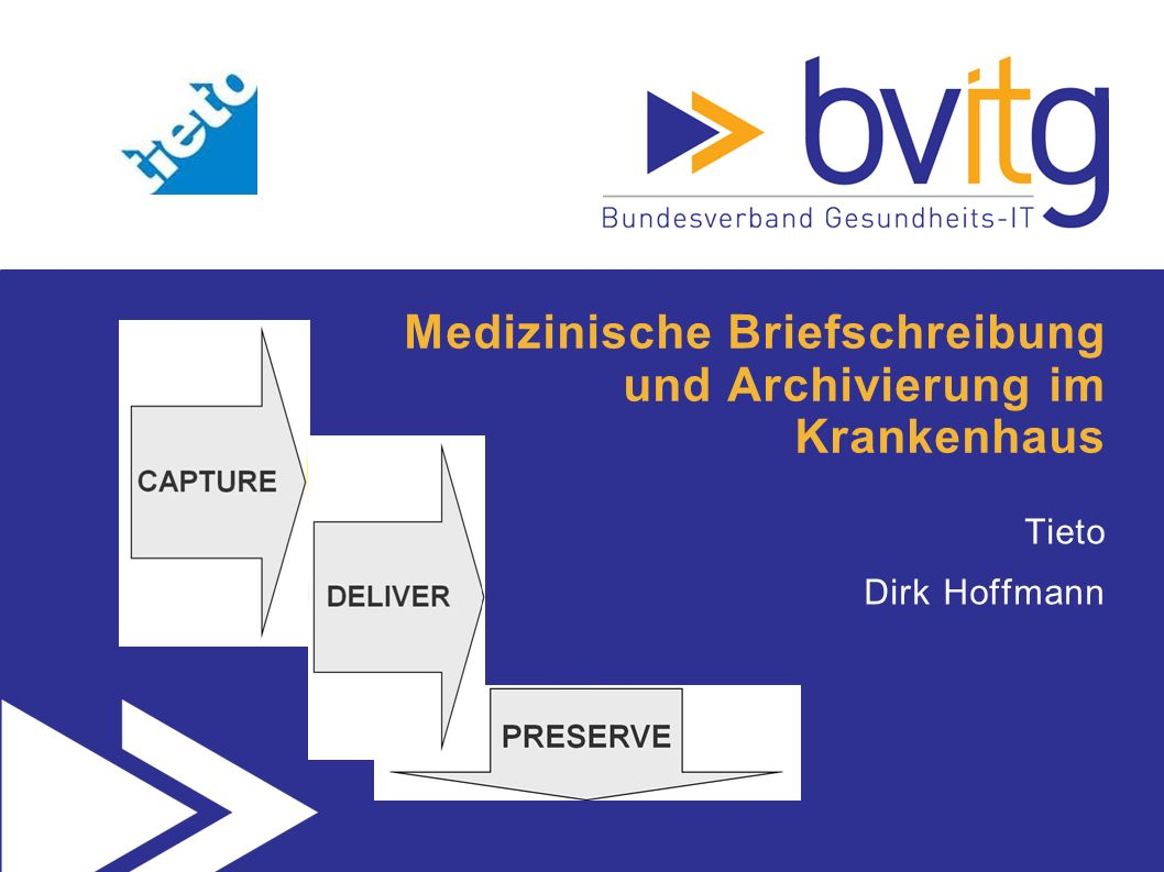 Medizinische Briefschreibung und Archivierung im Krankenhaus