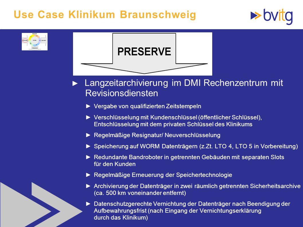 Use Case Klinikum Braunschweig