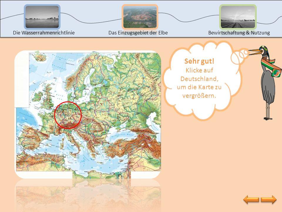 Klicke auf Deutschland, um die Karte zu vergrößern.