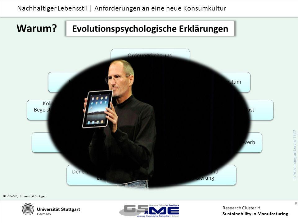 Evolutionspsychologische Erklärungen Funktionsbefriedigung