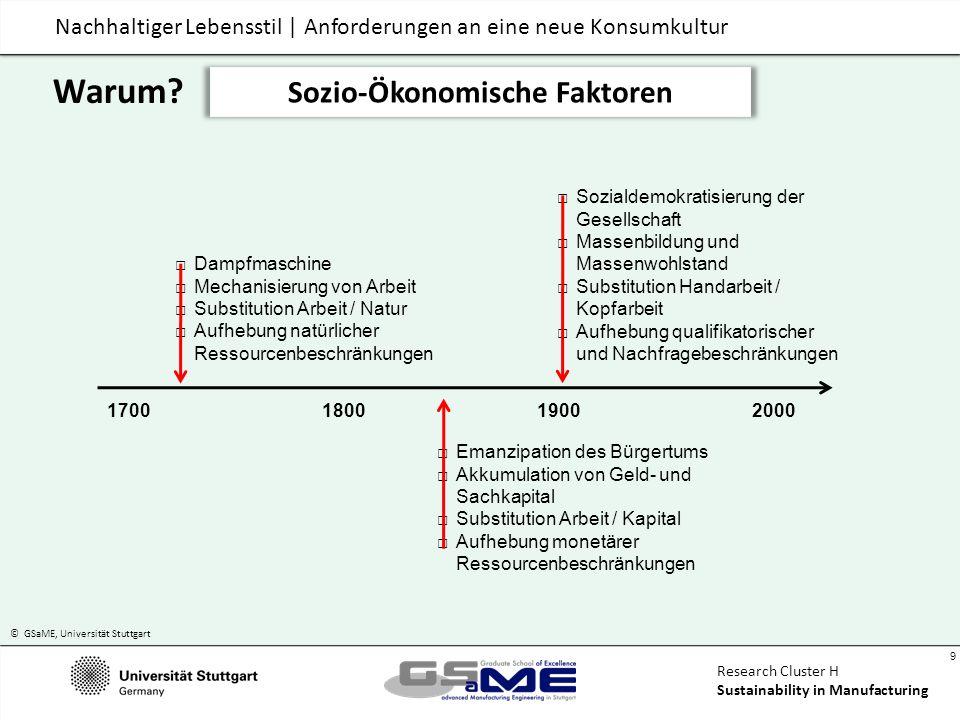 Sozio-Ökonomische Faktoren