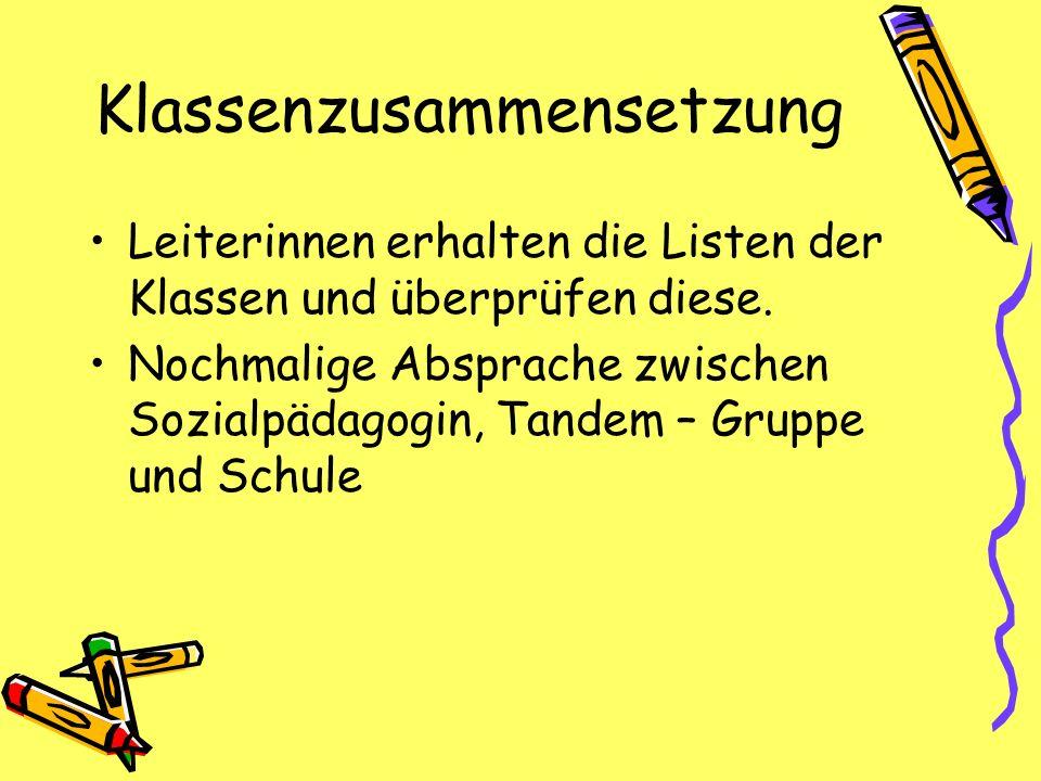Klassenzusammensetzung