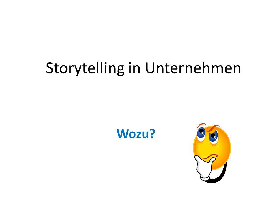 Storytelling in Unternehmen
