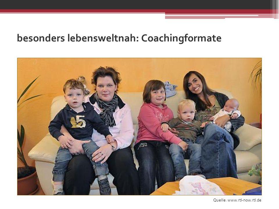 besonders lebensweltnah: Coachingformate