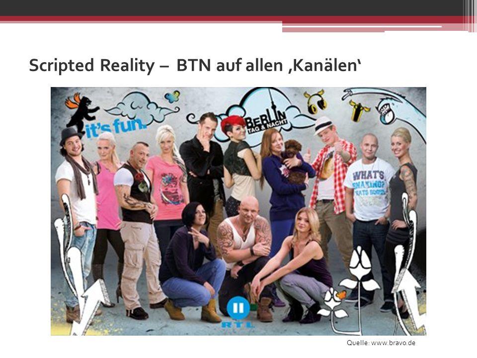 Scripted Reality – BTN auf allen 'Kanälen'