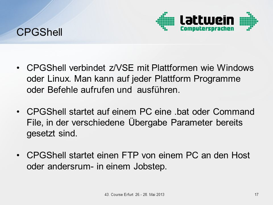 CPGShell