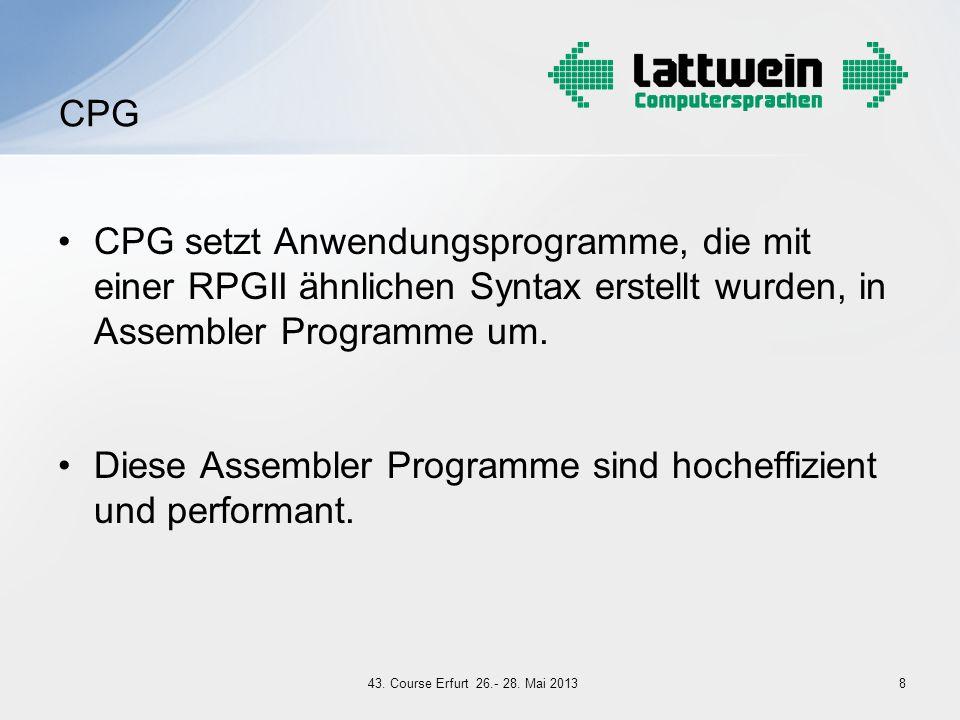 Diese Assembler Programme sind hocheffizient und performant.