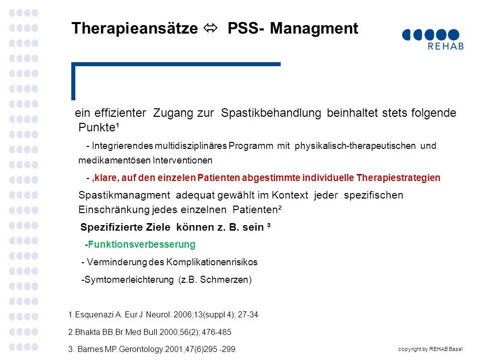 Therapieansätze  PSS- Managment
