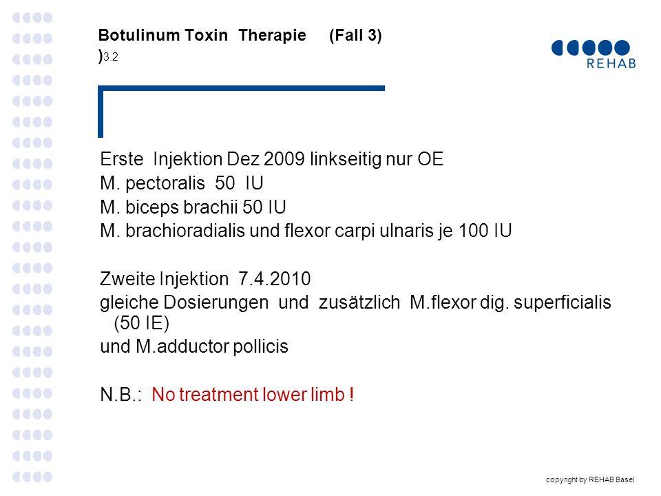 Botulinum Toxin Therapie (Fall 3) )3.2