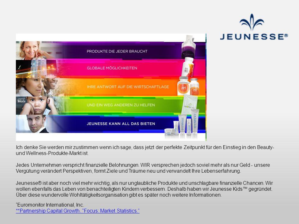 Ich denke Sie werden mir zustimmen wenn ich sage, dass jetzt der perfekte Zeitpunkt für den Einstieg in den Beauty- und Wellness-Produkte-Markt ist.