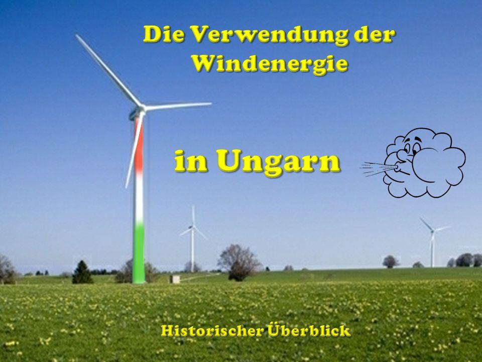 Die Verwendung der Windenergie